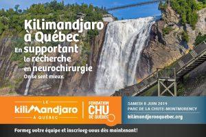 Visuel promotionnel du Kilimandjaro à Québec