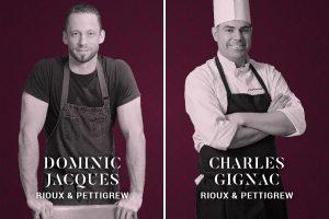 Les Chefs Dominic Jacques et Charles Gignac du restaurant Chez Rioux et Pettigrew