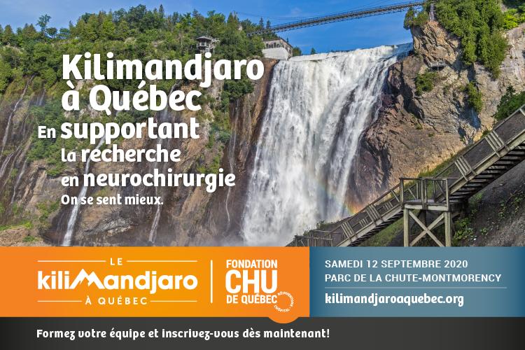 Kilimandjaro à Québec 2020