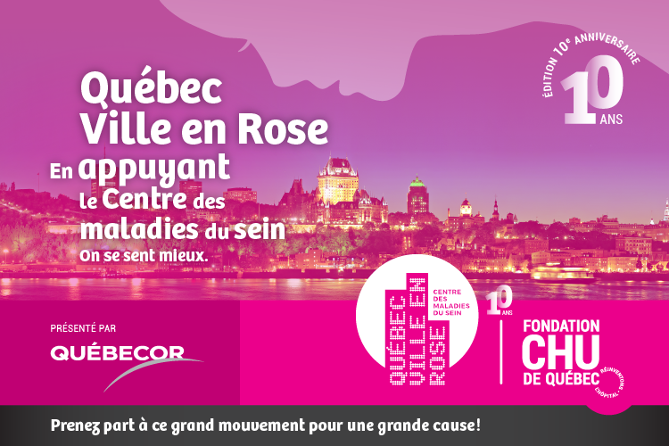 Québec ville en rose