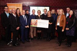 Annonce du montant remis pour la Rando hémato-onco 2019