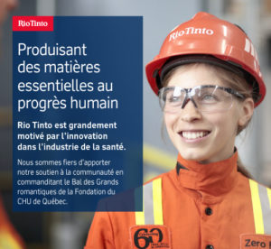 BDGR20 | Rio Tinto partenaire