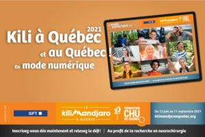 Kili à Québec 2021