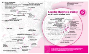 Carte des sites illuminés